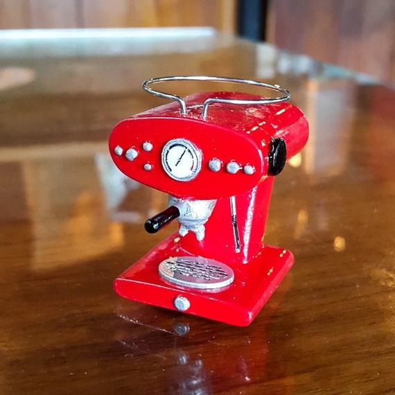 Dollhouse Miniature Lilly Coffee Espresso Maker By