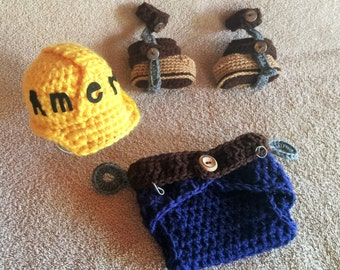 Lineman Baby Outfit - Power Lineman - Baby Lineman Outfit - Baby Photo Prop - I Love My Lineman - Linemen - Lineman Wife - Love My Lineman