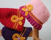 Go Gold For Kids Hat, Cancer Sucks Hat, Cancer Awareness Beanie, Crochet Beanie, Chemo Cap, Children's Cancer Awareness Hat, Gold Ribbon Hat