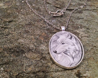 Wolf Necklace - Arctic Wolf - Animal Spirit Necklace - Wolf Accessory - Love Wolves Your Girl Will Love This