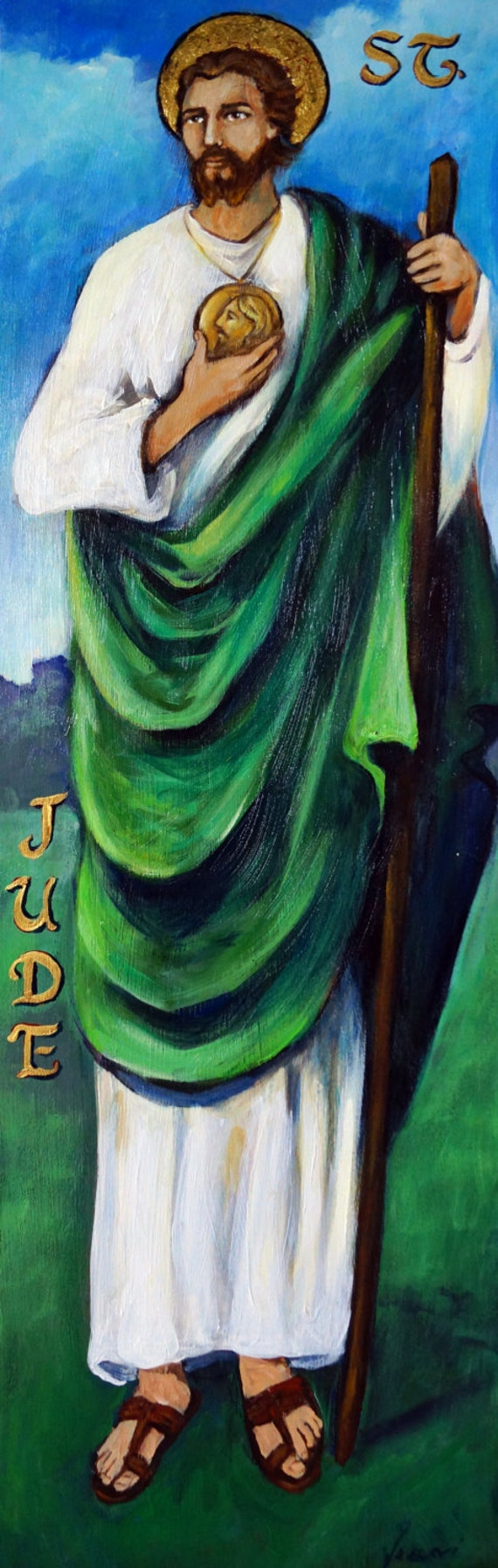 St. Jude, limited edition giclee