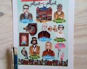 Royal Tenenbaum's print, Wes Anderson print
