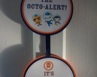 Octonauts Door Sign