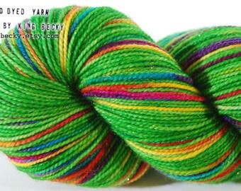 Stardust Sparkle Yarn - Pixel Yarn - Wildflower - Limited Edition Yarn