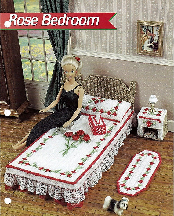 Barbie Bedroom In A Box: Items Similar To Rare Fashion Barbie Mattel Doll House