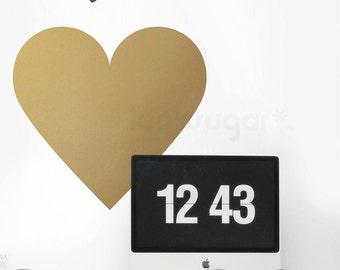 Heart Wall Decal - Vinyl Wall Sticker - Heart Decal - LSWD-0156