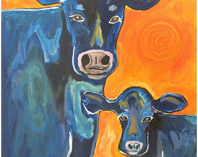Have A Cow Print Poster