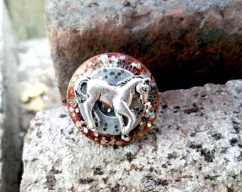 Glitter Horse Ring Equestrian Jewelry Trending Jewelry Country Girls Gifts Teen Women Tween Sale Jewelry