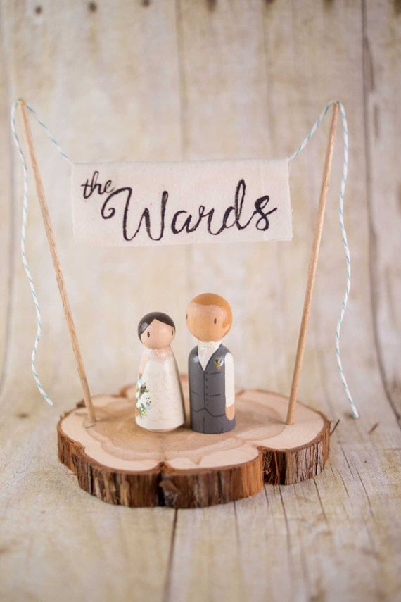 personalized last name wedding cake toppers custom wedding cake toppers last name by 18266