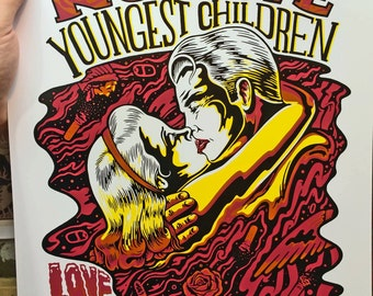 Spirit is the Spirit, NO CAVE, Youngest Children Print