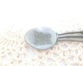Disney MGM Studios Silver Souvenir Spoon 1987 //