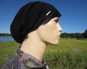 Black Silk Men's Hats Beret Beanie Designer LOGO Slouchy Beenie Knit Tam Bohemian Clothing Style A1203