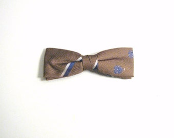Mustard Olive Vintage Bow Tie