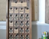 Kid's Chore Chart, Wooden Chore Chart, Rustic Chore Chart, Personalized Chore Chart, Chore Activity Board, Chore Chart Board, Wooden Display