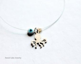 tiny octopus bracelet