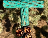 Cholla Wood Cross - Sacred works of the High Desert - Original Art / Cathy DeLeRee