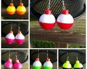 Fishing Bobber Earrings