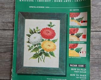 Spring Summer 1954 McCall's Needlework Magazine