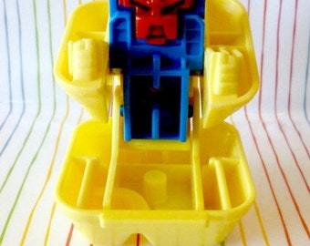 Vintage McDonalds Happy Meal Toy-  McDonalds Changeables ~ Robot Toy ~ Chicken McNuggets ~ Food Toy ~ Robot