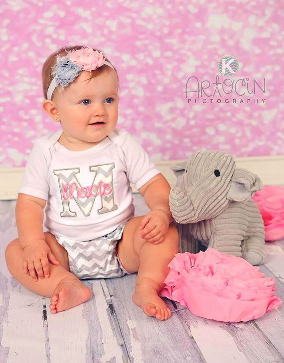 Personalized Baby Girl Clothes Newborn Girl Take by sassylocks