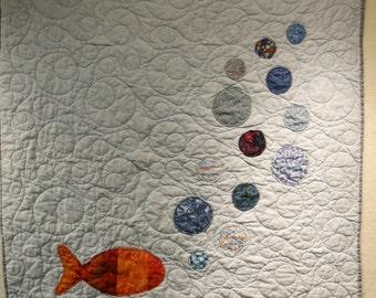 Goldfish Baby Quilt