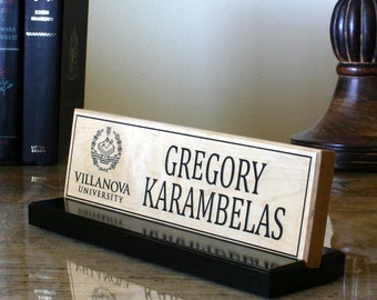 desk name plate personalized desk name sign door name plate