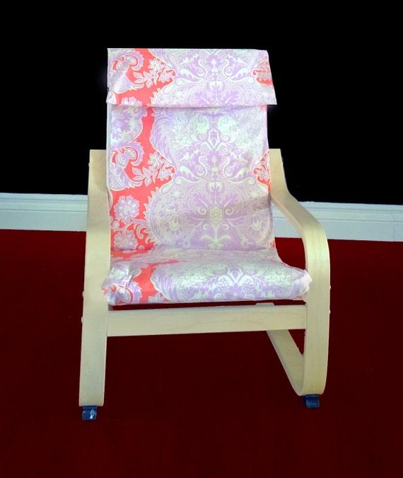Ikea Algot Wall Upright Shelves ~ IKEA KIDS POÄNG Cushion Slipcover  Love Sandalwood, Ready to Ship