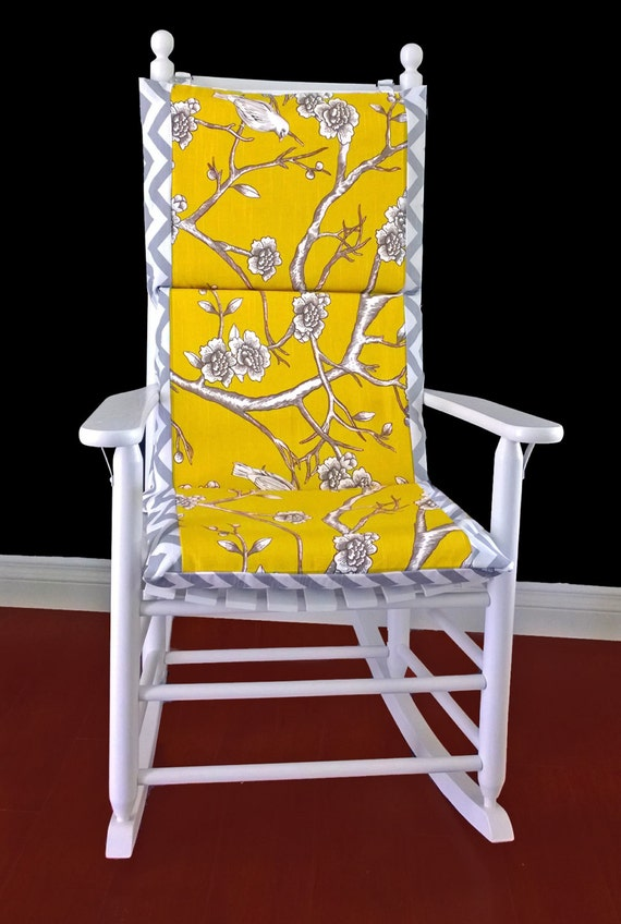 on sale rocking chair cushion cover dwell studio vintage
