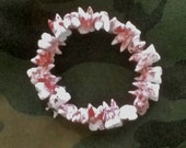 Blood Spattered Tooth Bracelet - macabre, Quay Brothers, goth, zombie, halloween