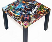 Avengers Movie Variant Comic Collage Table