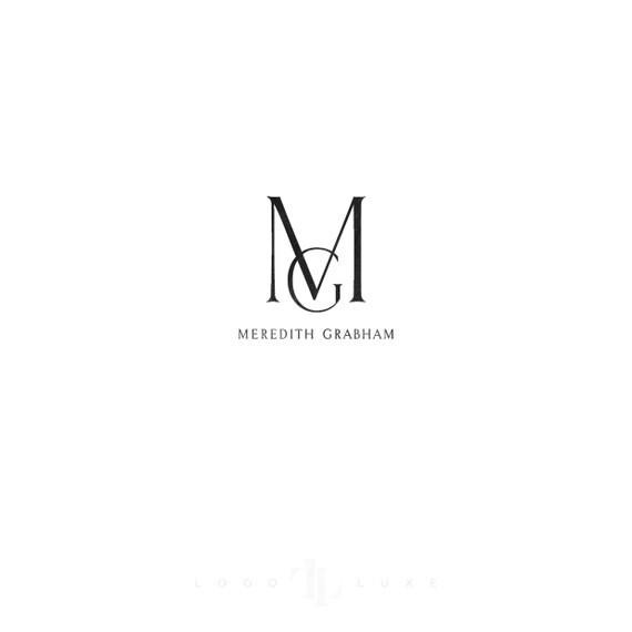 Custom Logo Design - Logo Luxe - Custom Business Logo - Logo Design - Interior Design Logo - Photography Logo Design