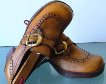 Jolly Rogers By Sebago Platform Shoes Size 6M
