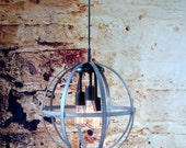 Industrial Lighting Chandelier with Edison Bulbs