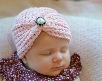 baby girl hat, newborn girl hat, crochet girls hat, girls hat, newborn girls hat, little girl hat, baby pink hat