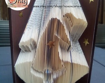 Witch Hat Folded Book Art Pattern