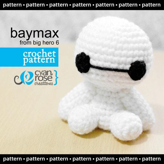 Amigurumi Free Pattern Baymax : Baymax Crochet Pattern Instant Download Baymax from Big