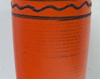 Large Scheurich lava vase.