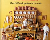Dolls' House Details by Kath Dalmeny - Design and Instruction for 1/12 Scale Doll House Accessories - Various Periods - Everyday Items
