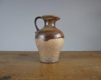 Scheurich Studio Pottery Pitcher  / West German / Jug / 499-18 / *25