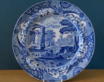 Spode Italian pattern transfer print plate c 1830