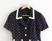 Vintage Polkadot Shirt