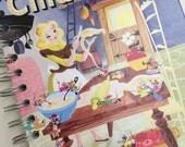 Cinderella Little Golden Book Recycled Journal Notebook