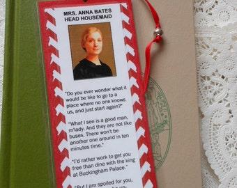 Downton Abbey Anna Bates Lady's Maid Laminated Bookmark - Laminated