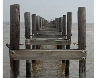 Abandoned Pier Photograph