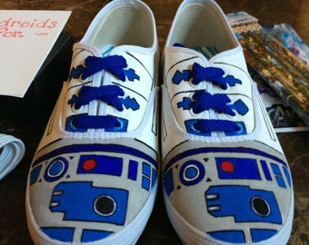 Custom R2D2 Shoes