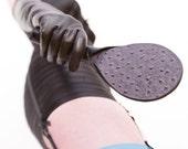 Spanking Paddle - Leather Paddle - BDSM Paddle - Limited Edition Spanking Paddle - Chocolate