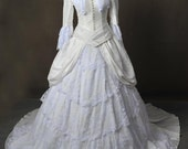 Phantom Of The Opera Christine Daaé Wedding Broadway Adult Cosplay Costume Gown Dress
