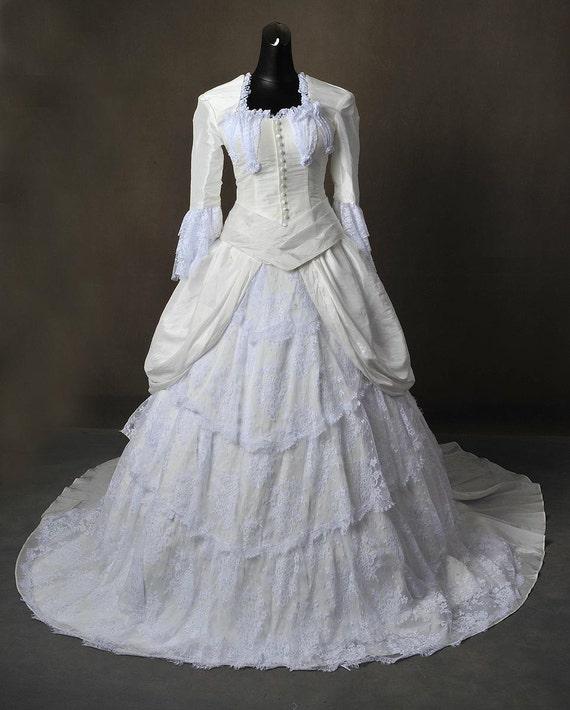 Phantom of the opera christine daa wedding by addictedtomagic for Phantom of the opera wedding dress