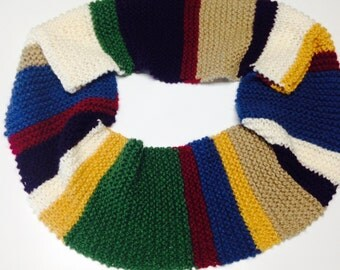 Doctor Who Tom Baker Infinity Scarf