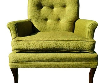 Mid- Century Club Chairs - a Pair